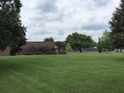 Evanston Township High School grounds