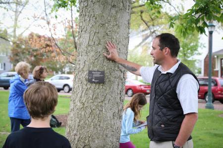 City of Bexley Ohio Buckeye tree
