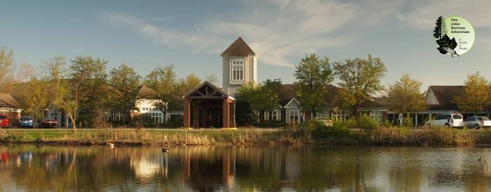 John Bartram Arboretum Pond Tower